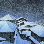 Shiobara Hataori - Digital Remastered Edition Art Print