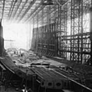 Shipbuilding Art Print