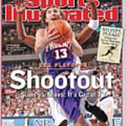 Shootout Nba Playoffs, Suns Vs. Mavs Its Great Tv Sports Illustrated Cover Art Print