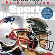 Shootout Super Bowl Li Preview Sports Illustrated Cover Art Print