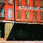 Shuttered Warehouse On The Lower East Art Print