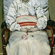 Sick Girl, 1881 Art Print