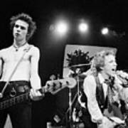 Sid Vicious And Johnny Rotten Art Print