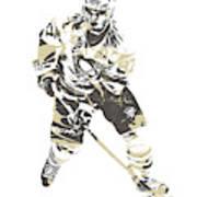 Sidney Crosby Pittsburgh Penguins Pixel Art 23 Art Print