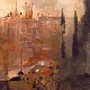 Siege Of A Castle 1910 Art Print