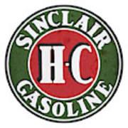 Sinclair Gasoline Art Print