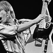 Singer Tom Petty Performs In Concert Art Print
