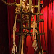 Skeleton  In Torturedevise Art Print