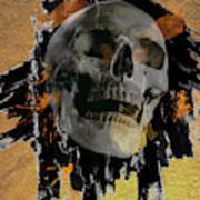 Skull - 9 Art Print