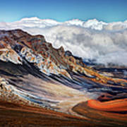Sliding Sands Trail, Haleakala National Art Print