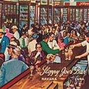 Sloppy Joes Bar, Havana, Cuba, 1951 Art Print