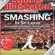 Smashing In St. Louis Sports Illustrated Cover Art Print