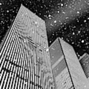 Snow Collection Set 03 Art Print