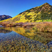 Snowmass Creek Art Print