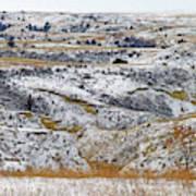 Snowy Dakota Art Print