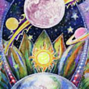 Solstice Moon Art Print