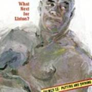 Sonny Liston, Heavyweight Boxing Champion Sports Illustrated Cover Art Print