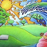 South Texas Disc Golf Art Print