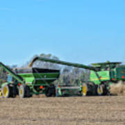 Soybean Harvest Max Art Print