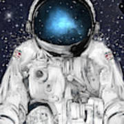 Space Adventurer  Art Print