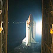 Space Shuttle Ready Art Print