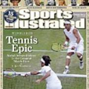Spain Rafael Nadal And Switzerland Roger Federer, 2008 Sports Illustrated Cover Art Print