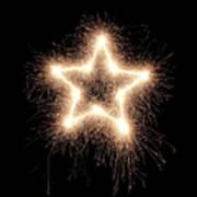 Sparkling Star Art Print