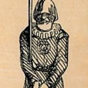 Spear Man Art Print