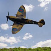 Spitfire Mk356 Art Print