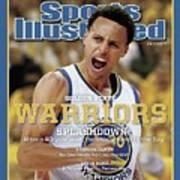 Splashdown Golden State Warriors 2015 Nba Champions Sports Illustrated Cover Art Print