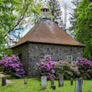 Spring At The Crispell Memorial French Church Art Print