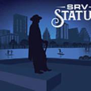 Srv Memorial Statue Art Print