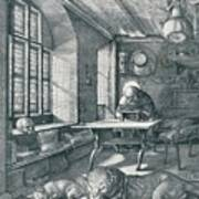 St Jerome In His Study, 1514 1906 Art Print