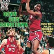St. Johns University Walter Berry Sports Illustrated Cover Art Print