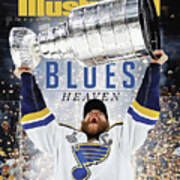 St. Louis Blues, 2019 Nhl Stanley Cup Champions Sports Illustrated Cover Art Print