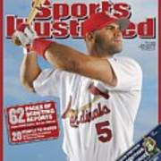 St. Louis Cardinals Albert Pujols Sports Illustrated Cover Art Print