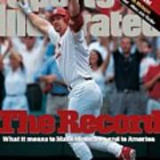 St. Louis Cardinals Mark Mcgwire... Sports Illustrated Cover Art Print