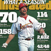 St. Louis Cardinals Mark Mcgwire What A Season Sports Illustrated Cover Art Print