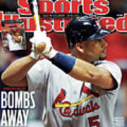 St Louis Cardinals V Milwaukee Brewers - Game 6 Sports Illustrated Cover Art Print