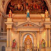 St. Louis Cathedral Altar New Orleans Art Print