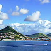 St. Maarten Panorama Art Print