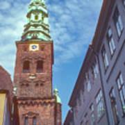 St. Nikolai Church Tower Art Print