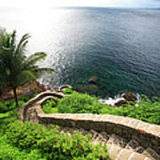 Stairs To The Sea - Brazil Art Print
