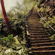 Stairway To Yesterday Art Print