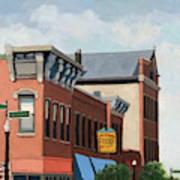 Standing Tall -local City Buildings Art Print