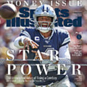 Star Power The Unmatched Value Of Being A Cowboy Sports Illustrated Cover Art Print
