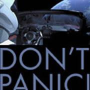 Starman Don't You Panic Now Art Print