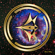 Starship Meridian Art Print