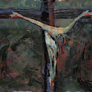Station 12 Jesus Dies On The Cross Art Print