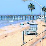 Station 3 Oceanside California Art Print